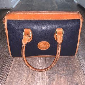 Vintage Dooney and Bourke Leather Satchel